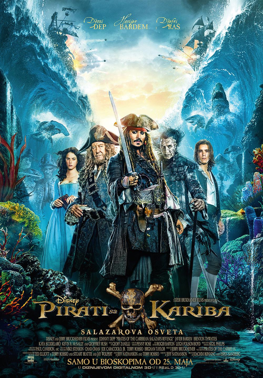 Pirati sa Kariba - Salazarova osveta